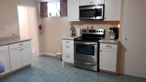 Aurora- rare 2 Bed 2 Bath basement apartment available July 1