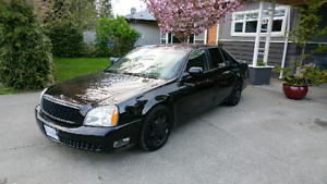 PRICE REDUCED blacked out 2004 Cadillac Deville