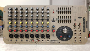 Soundcraft GigRac 1000st Powered Mixer