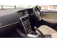2014 Volvo V40 D2 SE Lux with Leather and Cru Manual Diesel Hatchback