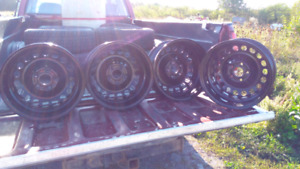 15 inch Steel Wheels - Like New