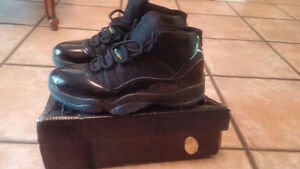 Men's Size 8 Jordan 11 Retro Gamma Blue Basketball Shoes