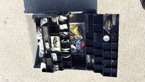 FISHING TACKLE BOX WITH ACCESSORIES
