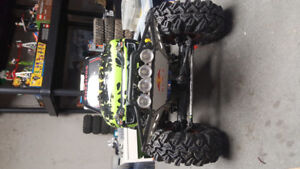 Rc axial scx10 monster truck 1/10