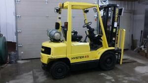 Hyster pneumatic tire forklift Kitchener / Waterloo Kitchener Area image 1