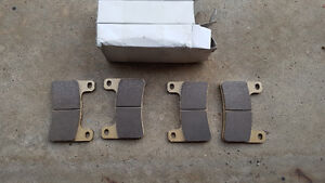 New front brake pads for 2009 Hayabusa