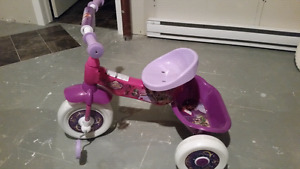 Sofia the first toddler bike.