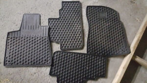 OEM Lexus Winter Rubber Floor Mats RX350 2016, 2017