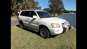 4x4! 7 SEATER! 11 SEPTEMBER REGO! 2004 Toyota Kluger Wagon Five Dock Canada Bay Area Preview
