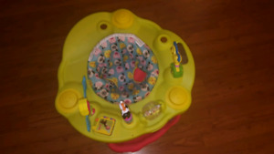 Baby toy and exersaucer
