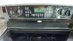 Whirlpool Gold Convection Oven Black