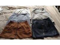 LADIES SKIRT BUNDLE SIZE 8