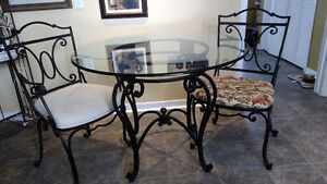 Bombay Wrought Iron Kitchen or Bistro set