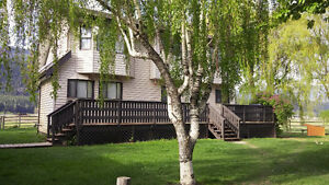 Horse Property With 11 Plus Acres and 2 Homes In Merritt, BC