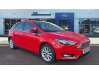 2017 Ford Focus 1.0 EcoBoost 125 Titanium 5dr Auto Petrol Hatchback Hatchback Pe