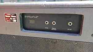 Vintage Yamaha combo w/powered cab TRADE West Island Greater Montréal image 4