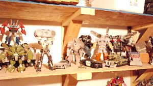 Large selection of great transformers for sale
