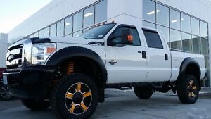 2015 FORD F-350 XLT LEATHER INTERIOR & LIFTED.....REDUCED !!!