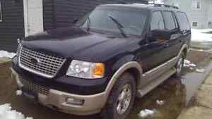 2006 ford expedition, eddie bauer, loaded, obo..