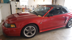For sale 2002 Ford Mustang GT Convertible