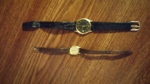 HIS AND HERS ACCURIST WATCHES