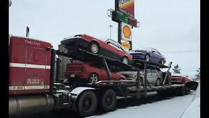 Shipping cars trucks furniture across country