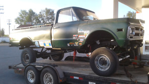 1971 4x4 project