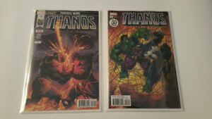 Thanos Issue #18 plus variant