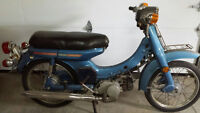 VINTAGE 70cc YAMAHA  SCOOTER