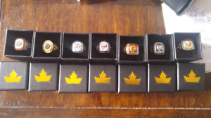 Nhl collectible rings