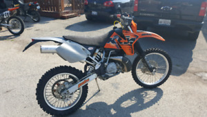 For sale awesome 1998 KTM EXC 250