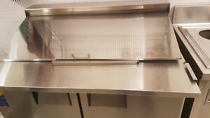 refrigerated Sandwich/Pizza Prep Table