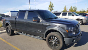 2011 Ford F-150 FX4  Black Pickup Truck