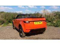 2016 Land Rover Range Rover Evoque 2.0 TD4 HSE Dynamic 2dr Automatic Diesel Conv
