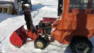 Wheel Horse Toro Tractor with snowblower