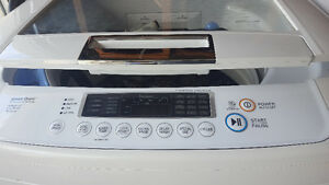 LG HE Top Load Washer and Dryer