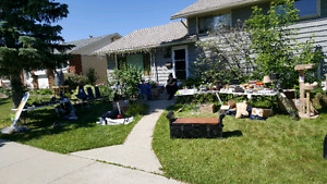 One day yard sale today