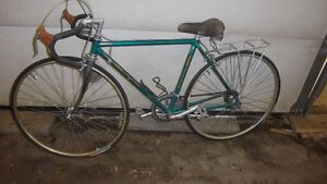 VINTAGE ITALIAN BIANCHI 12 SPEED 1980'S,ALL ORIGINAL
