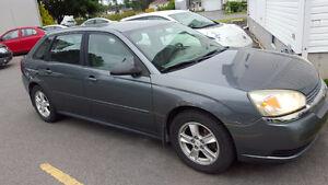 2005 Chevrolet Malibu Maxx Toit ouvrant INSPECTÉ RÉPARÉ