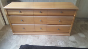 Bedroom Furniture 5 Piece Excellent Condition - Baronet All Wood