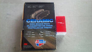 KIA SEDONA CERAMIC DISC BRAKE PADS & HALOGEN HEADLIGHT BULB Belleville Belleville Area image 1