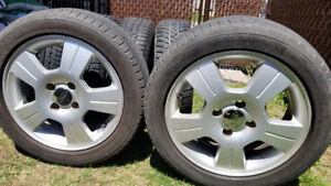 Tires with  mags