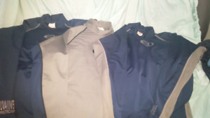 3 chill Guard wet suit shirts