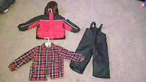 Faded Glory toddler 3T snow suit $20 takes set
