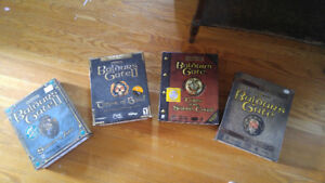 Balders gate collection set for PC brand new condition!