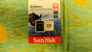 SanDisk Extreme Micro SDXC uhs-1  SD card for Action cameras