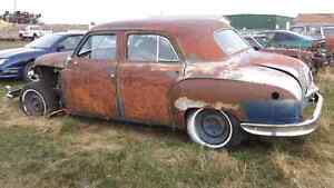 1949 chrysler windsor 4 door,  parts for sale.