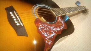 Washburn Acoustic Electric Guitar - $175