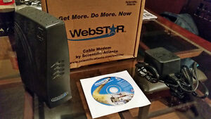 Modem Cable WebStar