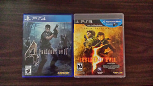 Resident Evil Games PS4 & PS3